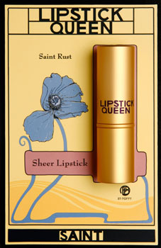 Saint lipstick/Lipstick Queen cosmetics (photo: Nola Lopez)