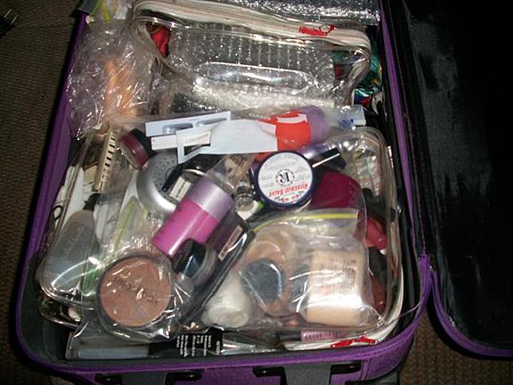 makeup to go blog makeup artist san francisco makeup artist los angeles Tania D. Russell old Makeup Kit