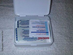 johnson and johnson mini first aid kit non makeup kit essentials