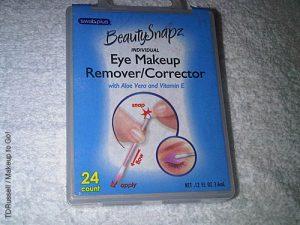 Swab Plus Brand Eye Makeup Corrector Swabs non makeup kit essentials