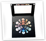 Stila Cosmetics Color Wheel Eyeshadow Palette vibrant color