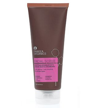 Pangea Organics Facial Scrub fall makeup