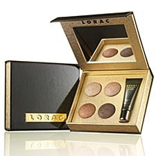LORAC Little Black Eye Shadow Palette mini makeup products