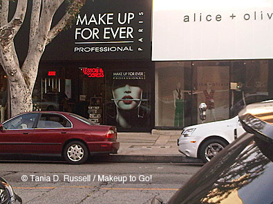 Make Up For Ever Robertson Boulevard Exterior