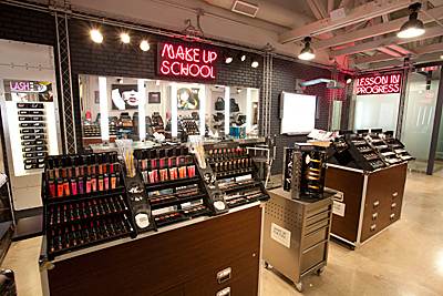 Make Up For Ever Los Angeles boutique