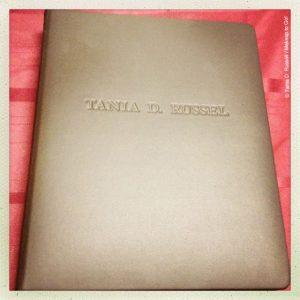tania d russell makeup artist print portfolio book