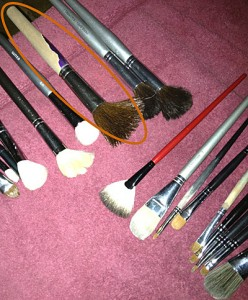 i miss my makeup brush makeup monday short notes