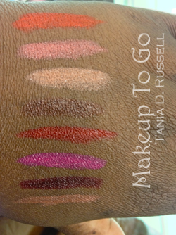 makeup to go blog makeup los angeles makeup san francisco tania d russell fashion fair supreme color lipcolor swatches