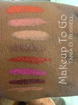 makeup to go blog makeup los angeles makeup san francisco tania d russell fashion fair supreme color lipcolor swatches