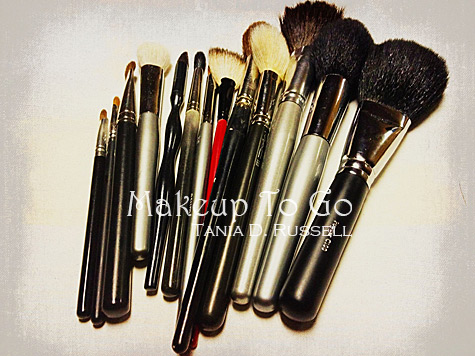 makeup to go tania d russell makeup brushes
