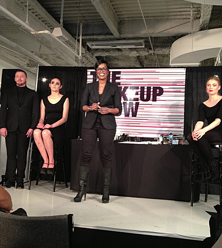 uzo international makeup stylist for nars cosmetics makeup show la 2013