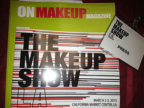 makeup to go at makeup show la 2013