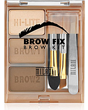milani cosmetics brow fix brow kit