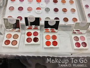 makeup to go blog makeup los angeles makeup san francisco phamexpo 2013 wrap up pre-filled Yaby Cosmetics interlocking palettes