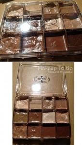vueset palette makeup kit organization