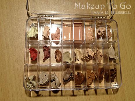 vueset palette dermacolors makeup kit organization