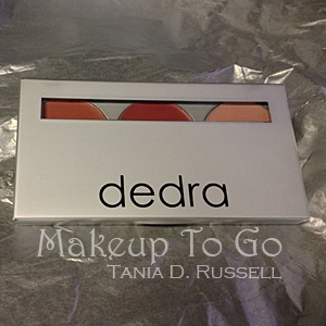 makeup to go blog makeup los angeles makeup san francisco tania d russell dedra beauty 3 in 1 palette