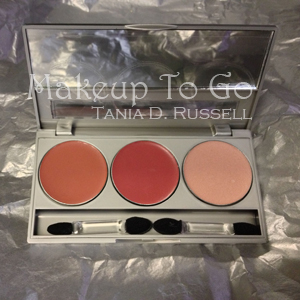 makeup to go blog makeup los angeles makeup san francisco tania d russell dedra beauty 3 in 1 palette open