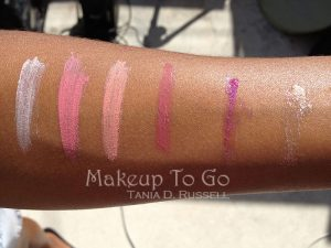 makeup to go blog makeup los angeles makeup san francisco tania d russell dedra beauty lip swatches