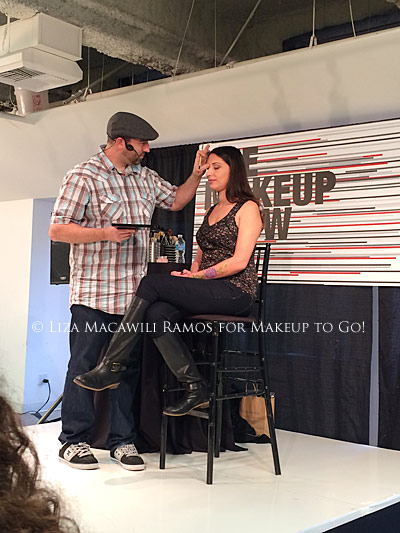 makeup to go blog makeup los angeles makeup san francisco tania d russell The Makeup Show Los Angeles 2014 recap frank ippolito