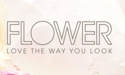 flower beauty and cosmetics logo