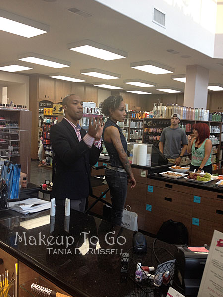 makeup to go blog makeup los angeles makeup san francisco tania d russell AJ Crimson Beauty demo