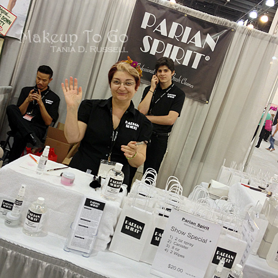 makeup to go blog makeup los angeles makeup san francisco tania d russell 2014 phamexpo wrap up parian spirit