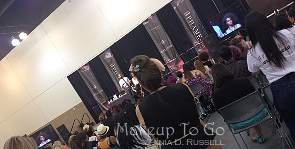 makeup to go blog makeup los angeles makeup san francisco tania d russell 2014 phamexpo wrap up sam fine crowd