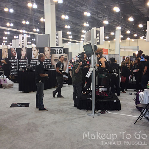makeup to go blog makeup los angeles makeup san francisco tania d russell 2014 phamexpo wrap up EI and ardell lashes