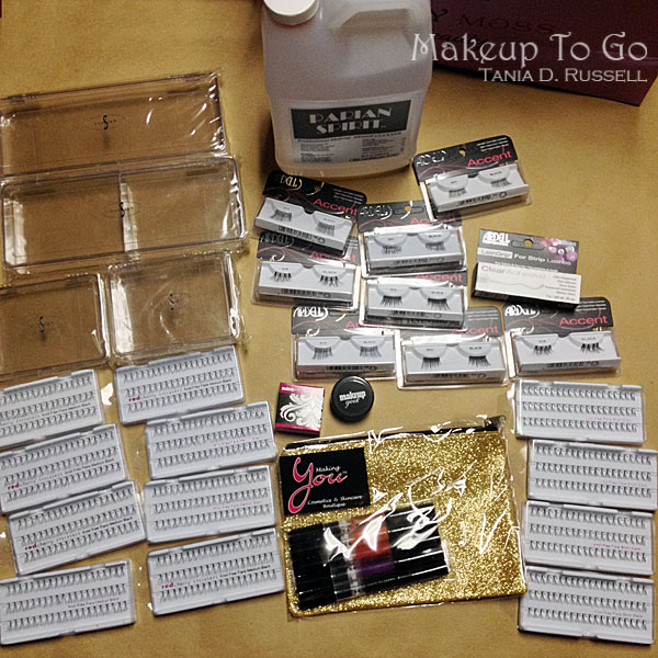 makeup to go blog makeup los angeles makeup san francisco tania d russell 2014 phamexpo wrap up tania d russell haul