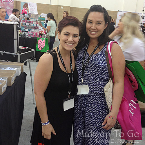 makeup to go blog makeup los angeles makeup san francisco tania d russell 2014 phamexpo wrap up amanda and annette