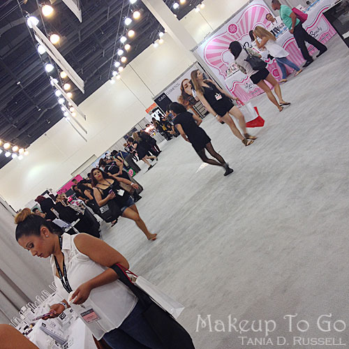 makeup to go blog makeup los angeles makeup san francisco tania d russell 2014 phamexpo wrap up crowd