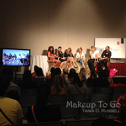 makeup to go blog makeup los angeles makeup san francisco tania d russell 2014 phamexpo wrap up social media panel