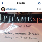 makeup to go delia j owens badge 2014 phamexpo