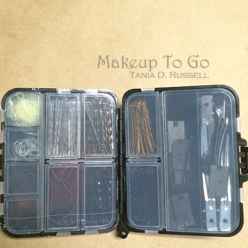 makeup to go blog makeup show los angeles 2015 wrap up straight pin studio essentials mini kit open