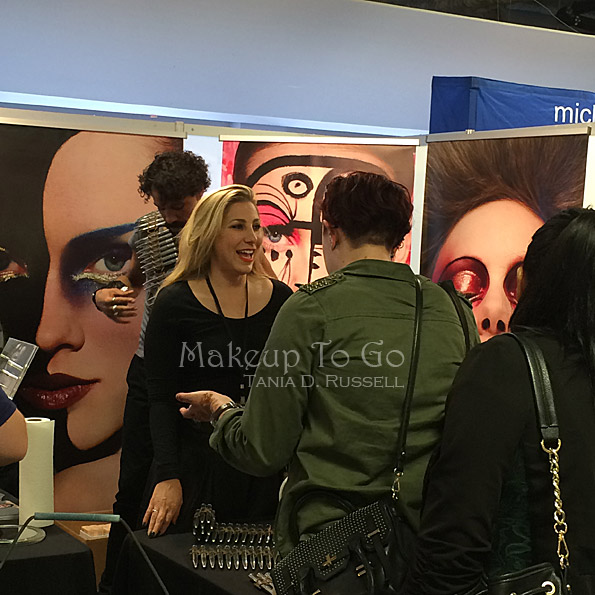 makeup to go blog makeup show los angeles 2015 wrap up ellis faas booth jennifer naideth throughthemakeupmirror