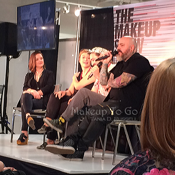 makeup to go blog makeup show los angeles 2015 wrap up MUFE melanie inglessis, william lemon III