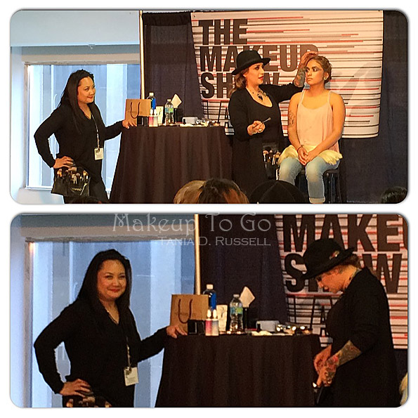makeup to go blog makeup show los angeles 2015 wrap up valerie hernandez liza macawilli ramos youngblood cosmetics