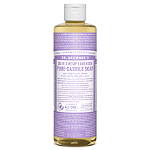makeup to go blog lifesavers dr. bronners  18 in 1 hemp lavender pure castile liquid soap