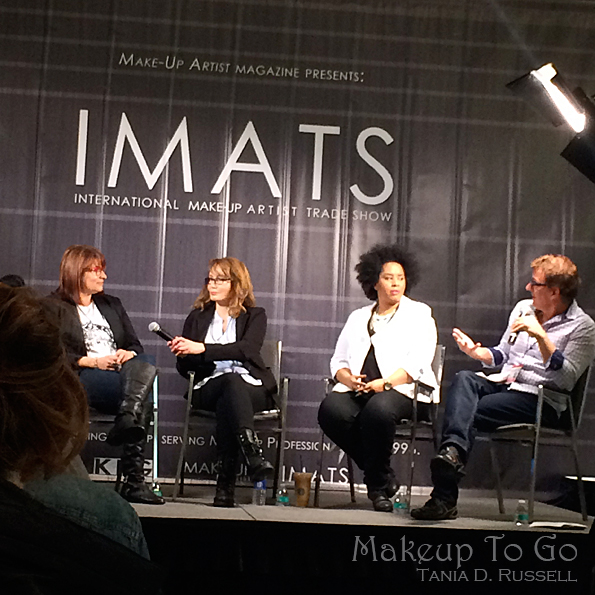 makeup to go blog a tale of two trade shows 2016 edition IMATS industry panel IMATS
