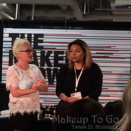 makeup to go blog a tale of two trade shows 2016 edition the makeup show charlie green demo