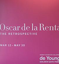 makeup to go blog oscar de la renta retrospective de young museum san francisco