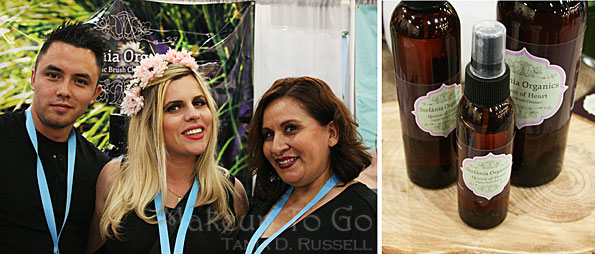 makeup to go blog makeup los angeles makeup san francisco phamexpo 2016 stefania organics brush cleaner hand sanitizer