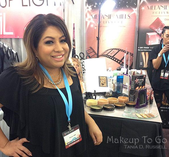 makeup to go blog makeup los angeles makeup san francisco phamexpo 2016 delia jimenez owens maquillaje para go Delia's Take PHAMExpo 2016 melanie gleam cosmetics melanie mills
