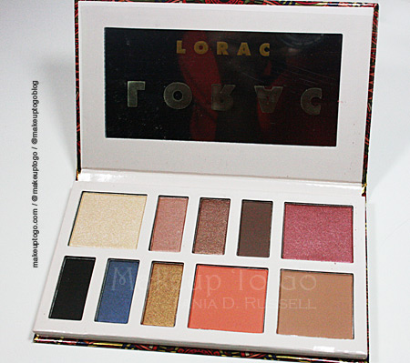 makeup to go blog Los Angeles makeup San Francisco makeup Tania d Russell makeupthursday lorac palette