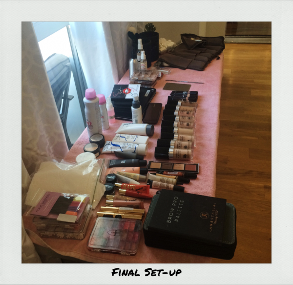 makeup to go blog tania d russell makeup artist makeup educator beauty writer los angeles makeup artist san francisco makeup artist anatomy of a kit prep final set up