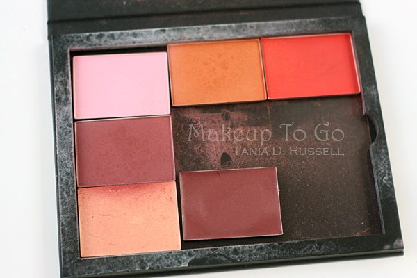 makeup to go blog makeup artist los angeles makeup artist san francisco makeup educator best blushes for brown beauties nars tdr custom blush palette