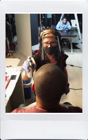 elizabeth fox working on set makeup to go blog tania d russell makeup expert beauty educator los angeles san francisco las vegas