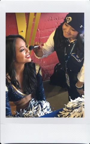 liza macawili working on set makeup to go blog tania d russell makeup expert beauty educator los angeles san francisco las vegas