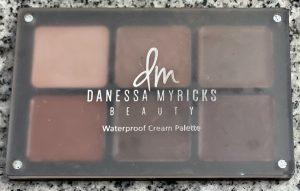 Delia J Owens makeup to go blog Los Angeles San Francisco Las Vegas makeup artist blog five favorite products right now Danessa myricks beauty essentials waterproof cream palette
